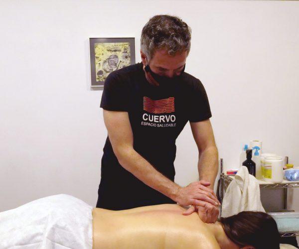 masaje deportivo en gijon asturias cuervo